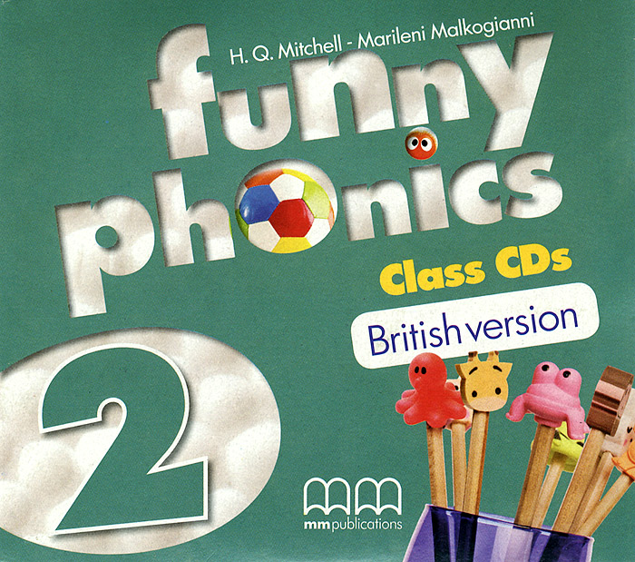 Funny Phonics 2: Class CDs (аудиокурс на 2 CD) cosmic level b1 class cds аудиокурс на 2 cd