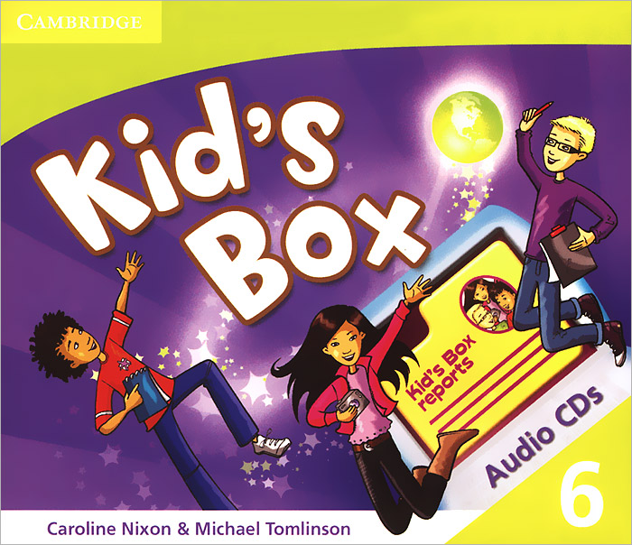 Kid's Box 6 (аудиокурс на 3 CD) cambridge young learners english flyers 5 answer booklet