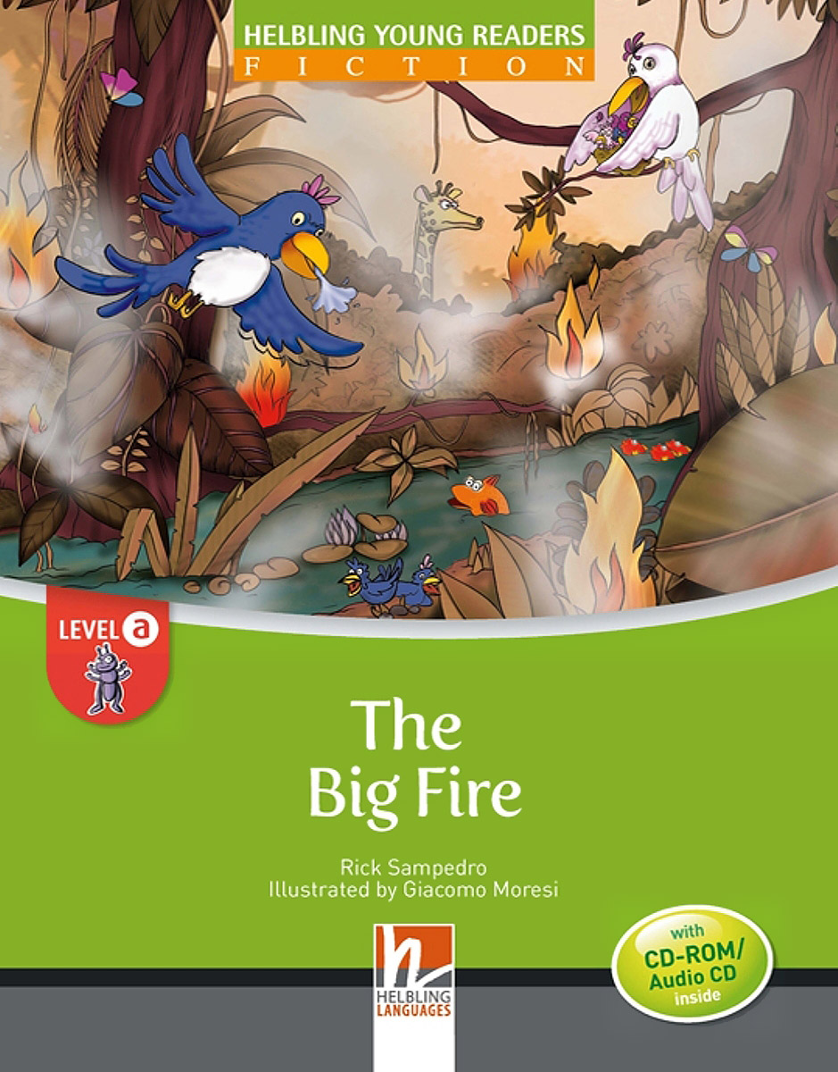 The Big Fire: Level A ( + CD-ROM, CD)