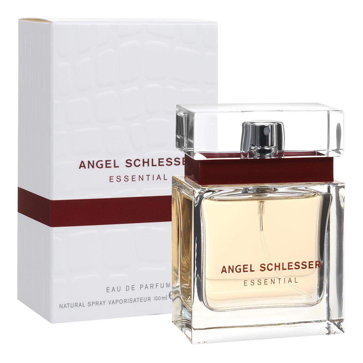 Angel Schlesser Парфюмерная вода Essential, женская, 100 мл25732Женский аромат Angel Schlesser Essential создан для современной, уверенной в себе женщины, которая следит за новыми тенденциями в мире моды и парфюмерии. Он посвящен элегантной, соблазнительной и неповторимой женщине. Она обладает яркой маняще-откровенной красотой, но в то же время скрывает в себе неразрешимую притягательную тайну. Эта тайна делает ее особенной, непохожей на других, наполняя сосуд ее красоты бесконечным и драгоценным содержанием.Классификация аромата: цветочно-фруктовый. Пирамида аромата: Верхние ноты: бергамот, красная смородина, свежесть фруктов. Ноты сердца: болгарская роза, пион, фрезия, фиалка.. Ноты шлейфа:мускус, ветивер, сандал. Ключевые слова нежный, свежий!Самый популярный вид парфюмерной продукции на сегодняшний день - парфюмерная вода. Это объясняется оптимальным балансом цены и качества - с одной стороны, достаточно высокая концентрация экстракта (10-20% при 90% спирте), с другой - более доступная, по сравнению с духами, цена. У многих фирм парфюмерная вода - самый высокий по концентрации экстракта вид товара, т.к. далеко не все производители считают нужным (или возможным) выпускать свои ароматы в виде духов. Как правило, парфюмерная вода всегда в спрее-пульверизаторе, что удобно для использования и транспортировки. Так что если духи по какой-либо причине приобрести нельзя, парфюмерная вода, безусловно, - самая лучшая им замена. Товар сертифицирован.