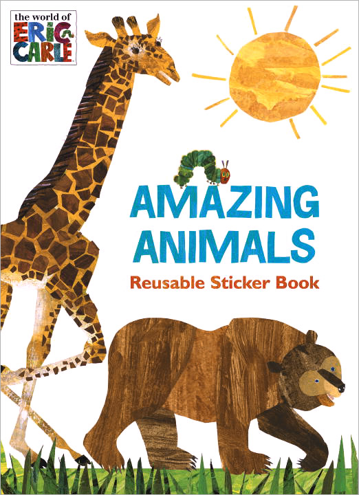 Amazing Animals: Reusable Sticker Book the amazing world of gumball mad libs