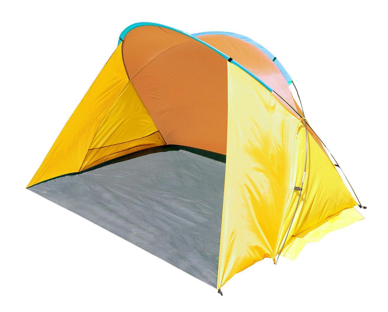"""Однослойный пляжный тент TREK PLANET """"Miami Beach"""", обеспечивает защиту от солнца, ветра и даже легких осадков - особенно полезен для очень маленьких детей. Очень прост в установке, имеет малый вес и удобный чехол с ручкой для переноски.Особенности модели:- Простая и быстрая установка- Тент палатки из полиэстера, с пропиткой PU водостойкостью 800 мм- Каркас выполнен из прочного стекловолокна- Дно изготовлено из прочного армированного полиэтилена- Утяжеляющие карманы для песка для устойчивости тента- Карманы для мелочей по бокам тента- Растяжки и колышки в комплекте."""
