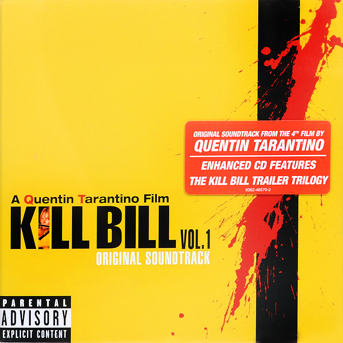 Kill Bill. Vol. 1. Original Soundtrack (ECD)