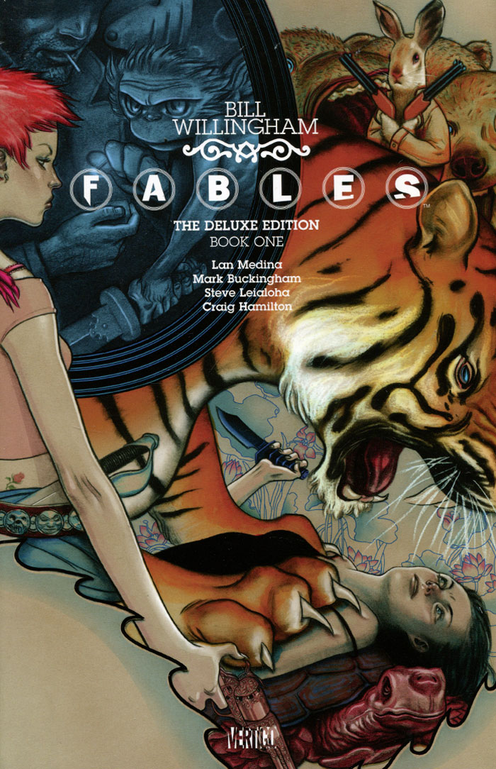 Fables: The Deluxe Edition: Book 1 jack and the beanstalk