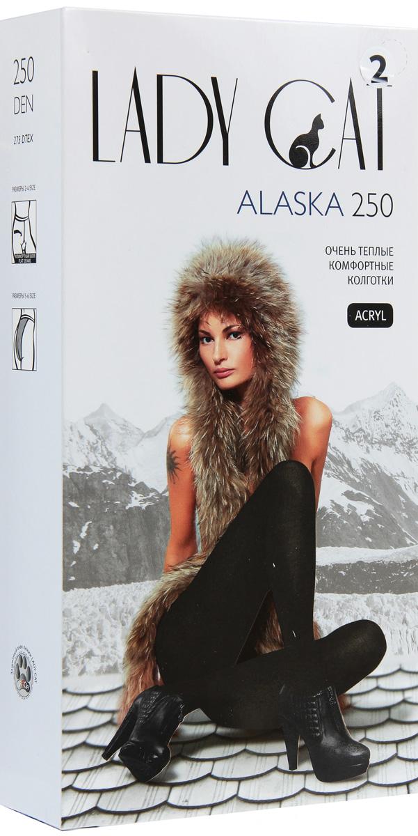 Колготки Грация Lady Cat Alaska 250, цвет: черный. Размер 4Alaska 250Теплые, уютные, мягкие колготки Грация Lady Cat Alaska 250 из искусственной шерсти согреют даже в очень холодную погоду. Надежно защищают от холода, прочные, прекрасно облегают ноги. Специальная термообработка и плоские швы обеспечивают дополнительный комфорт.В размерах 5 и 6 сзади имеется специальная вставка.Плотность: 250 den. В коллекциях колготок Грация представлены модели, которые станут удачным дополнением к гардеробу любой женщины. Модели с заниженной и классической линией талии, совсем тоненькие с эффектом прохлады для жарких дней и утепленные с добавлением шерсти. Любая модница знает, что особое внимание при выборе одежки для своих ножек следует уделять фактуре изделия. В коллекции колготок Грация вы найдете и шелковистые колготки с добавлением лайкры, которые окутают ваши ножки легким мерцанием, и более строгие матовые модели.Но главная особенность колготок Грация - их практичность: они устойчивы к появлению затяжек и очень прочны. В особенно уязвимых зонах многие модели специально уплотнены, что обеспечивает дополнительную защиту.