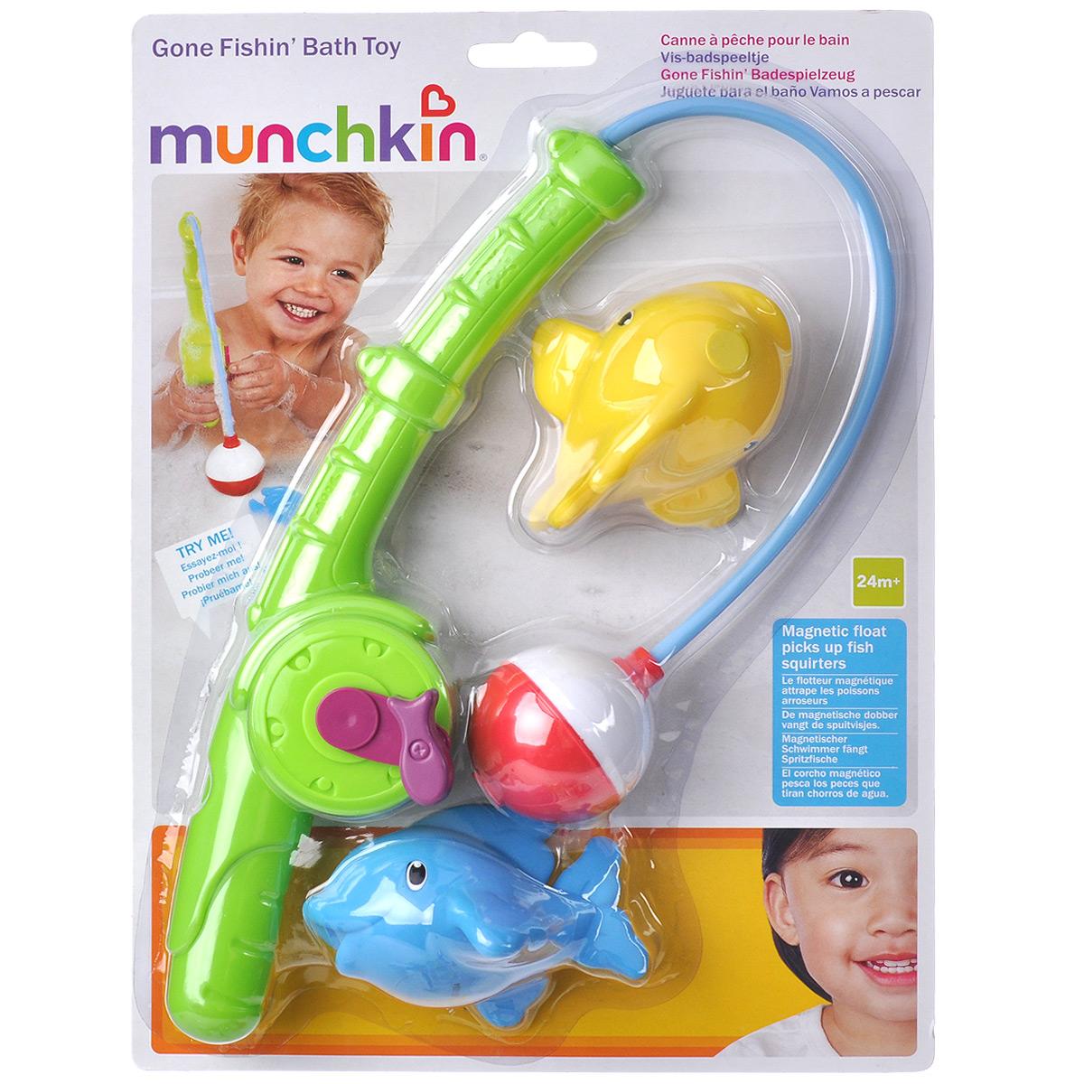 Игровой набор для ванны Munchkin Веселая рыбалка munchkin органайзер для игрушек в ванной цвет голубой