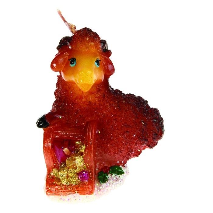 Свеча декоративная Sima-land Коза с сокровищами. 823797823797