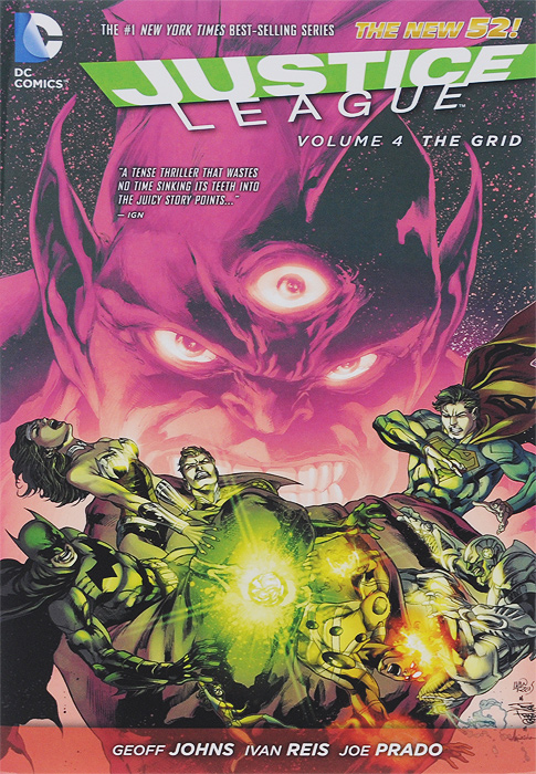 Justice League: Volume 4: The Grid