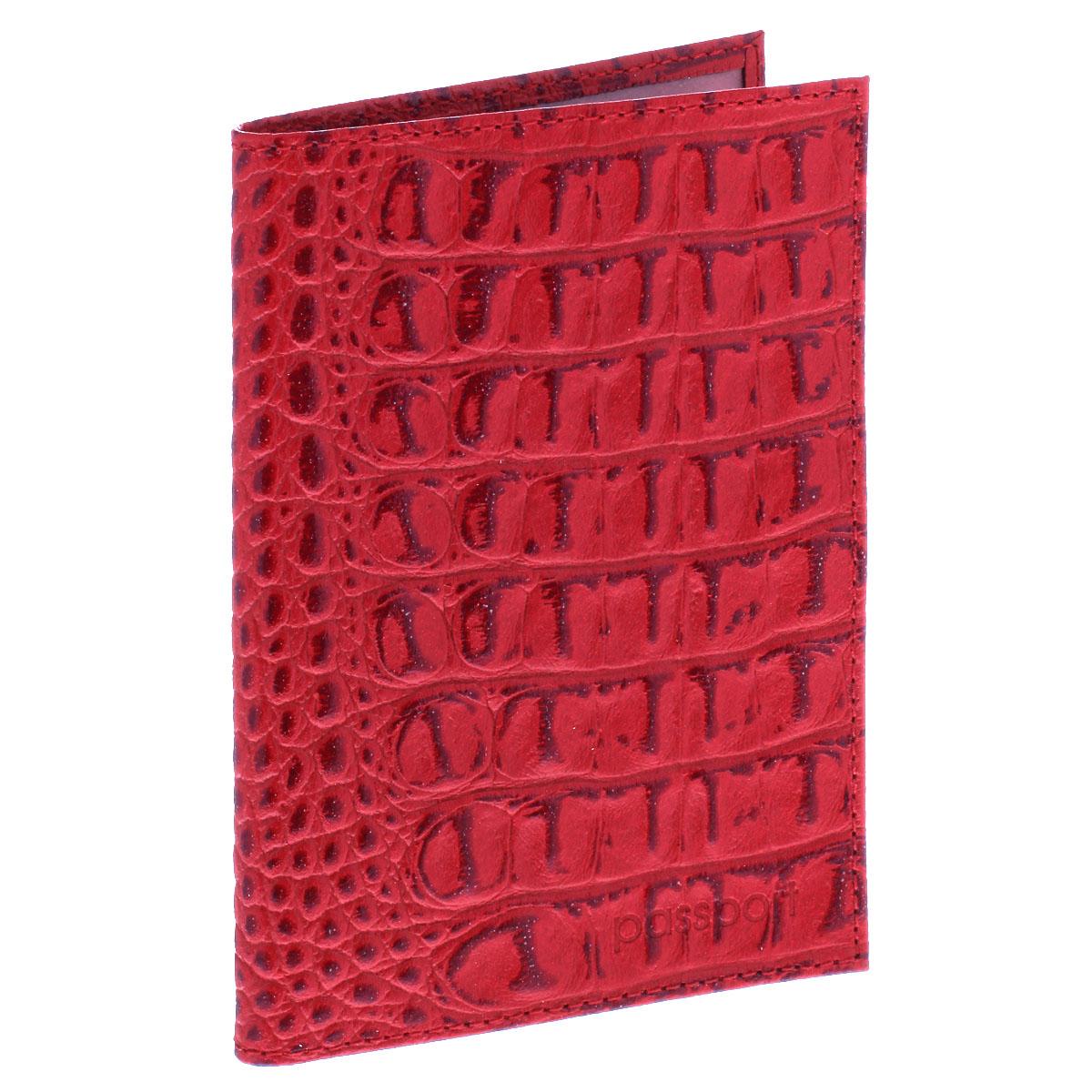 Обложка для паспорта Befler, цвет: красный. O.1.-13Натуральная кожаУльтрамодная обложка для паспорта Befler изготовлена из натуральной кожи и оформлена тиснением под рептилию. Изделие с обеих сторон дополнено тиснеными надписями. Внутри - два прозрачных боковых кармана из мягкого пластика, которые обеспечат надежную фиксацию вашего документа. Изделие упаковано в фирменную коробку.Модная обложка для паспорта не только поможет сохранить внешний вид вашего документа и защитить его от повреждений, но и станет стильным аксессуаром, который эффектно дополнит ваш образ.