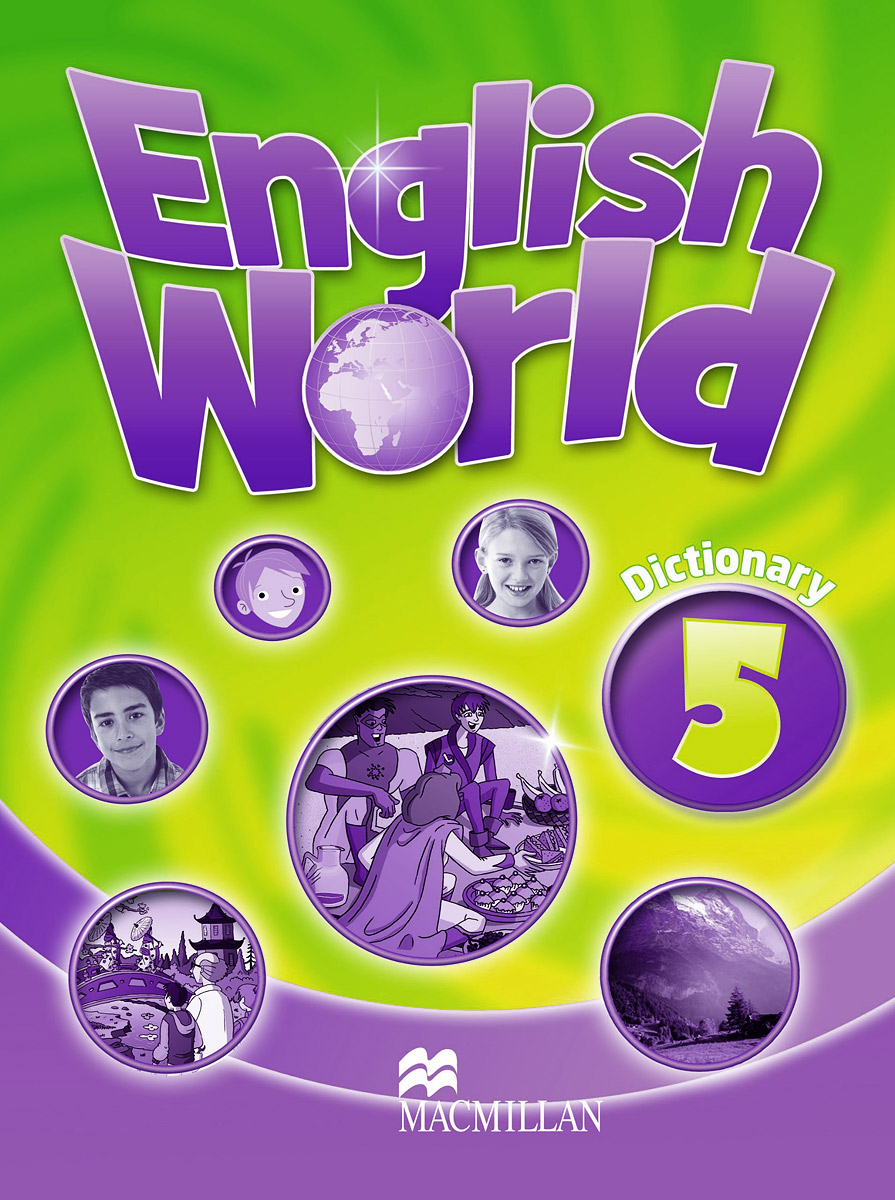 English World 5: Dictionary structure of group writing activities in english textbooks