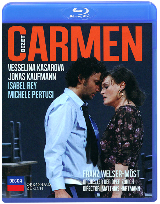Bizet: Carmen (Blu-ray) bizet bizet carmen 3 lp