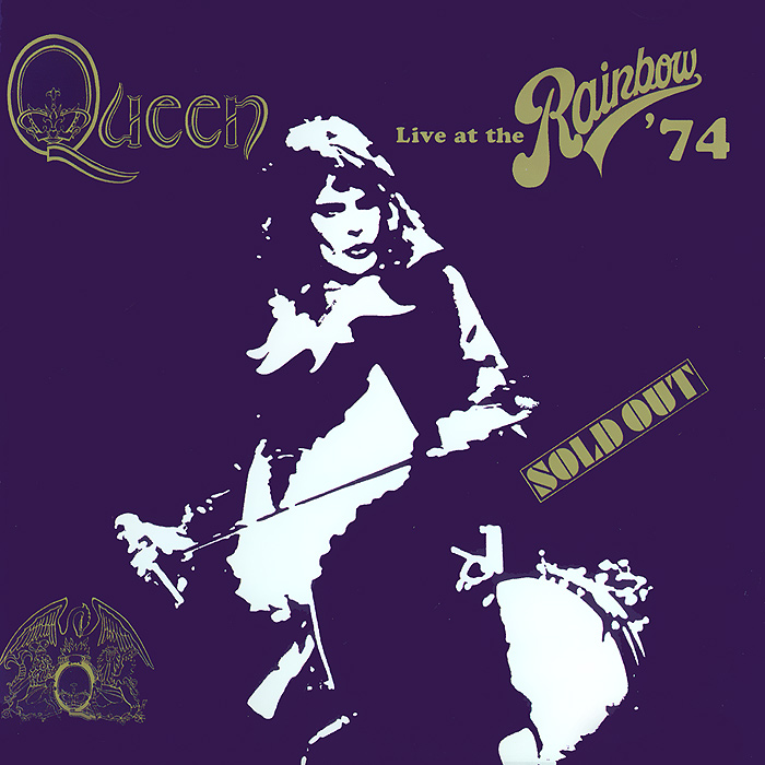 Queen Queen. Live At The Rainbow' 74 the bone queen
