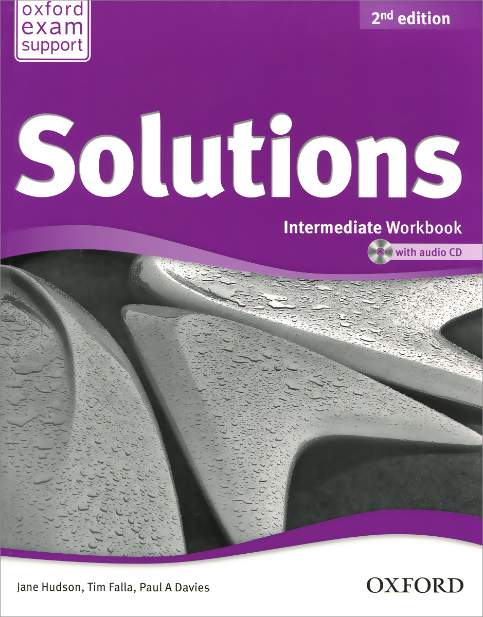 Solutions: Intermediate: Workbook (+ аудиокурс на CD) new total english intermediate workbook with key cd