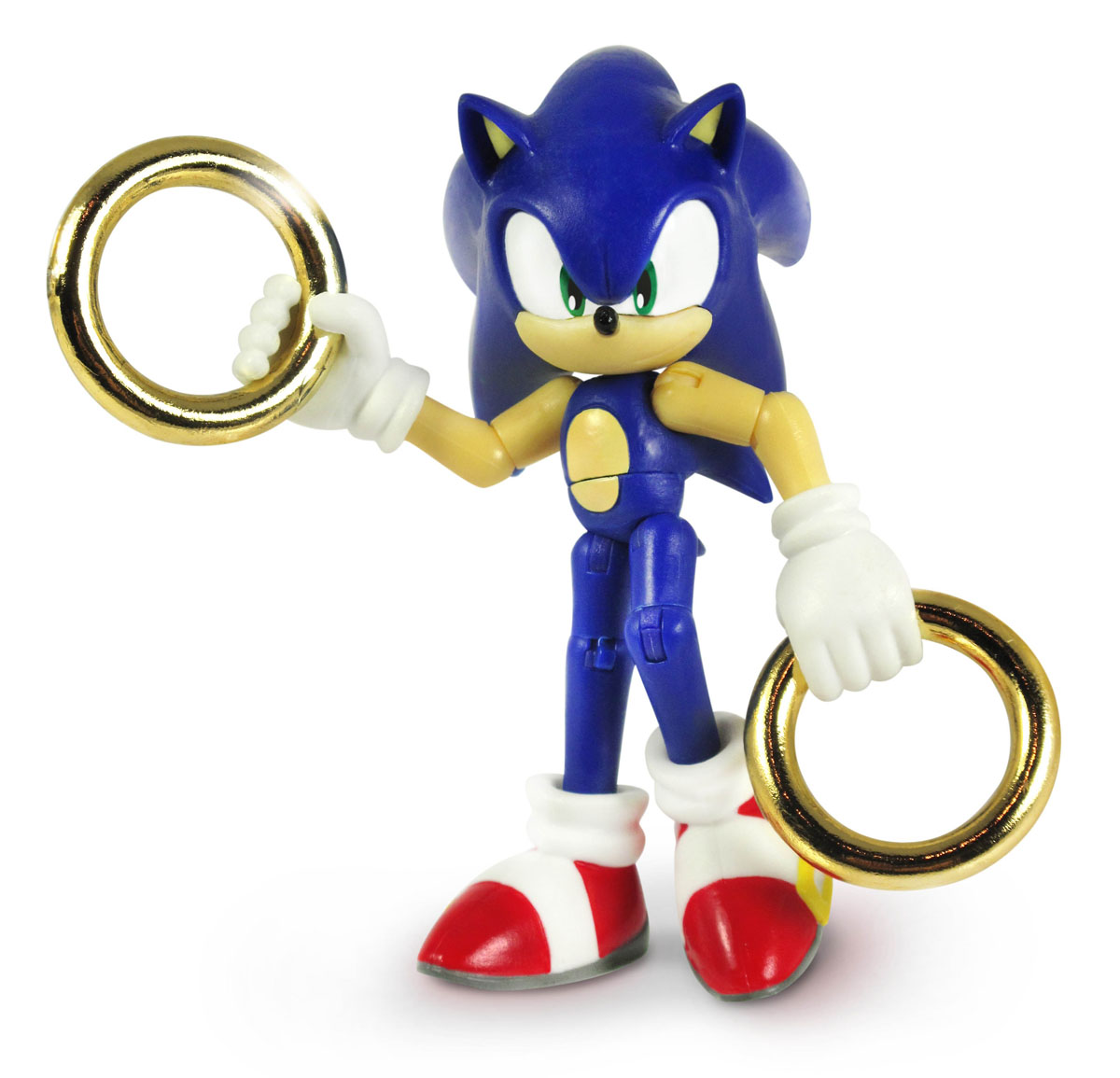 Фигурка Sonic Sonic with Rings, с аксессуарами mathematical modeling for the mcm icm co