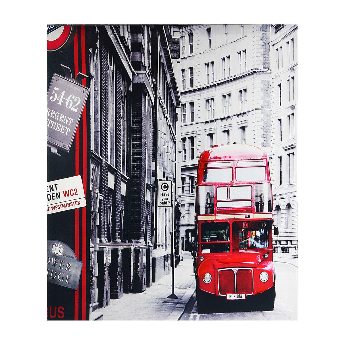 Картина на холсте Sima-land Красный автобус, 50 см х 40 см296664Картина Sima-land Красный автобус написана на холсте. На картине изображены черно-белые здания и красный автобус. Особое объемное изображение придает картине акрил, который нанесен поверх изображения. Картина на холсте акрилом - это классика современного живописного искусства. Картины акрилом всегда сохраняют яркий блеск, что придает картине живость. Из мелочей складывается стиль интерьера.Картина на холсте Sima-land Красный автобус одна из тех деталей, которые придают дому обжитой вид и создают ощущение уюта.