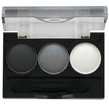 Ninelle Тени для век Smoky eyes, 3 цвета, тон №21, 3х0,8 г тени для век ninelle eyeshadow ultimate 57