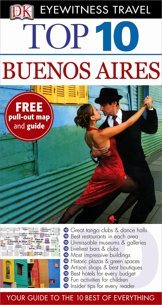 Buenos Aires dk eyewitness top 10 travel guide devon
