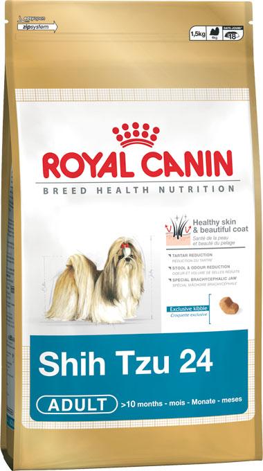 """Корм сухой Royal Canin """"Shih Tzu Adult"""", для собак пород ши-тцу в возрасте от 10 месяцев, 500 г"""