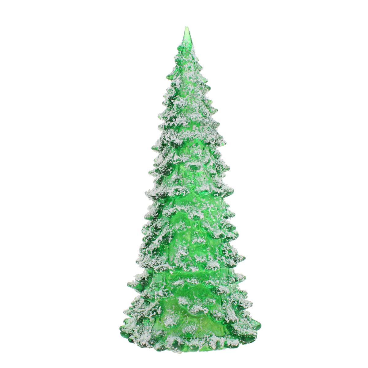 Новогоднее украшение Sima-land Снежная елочка, с подсветкой, высота 22 см свеча ароматизированная sima land лимон на подставке высота 6 см