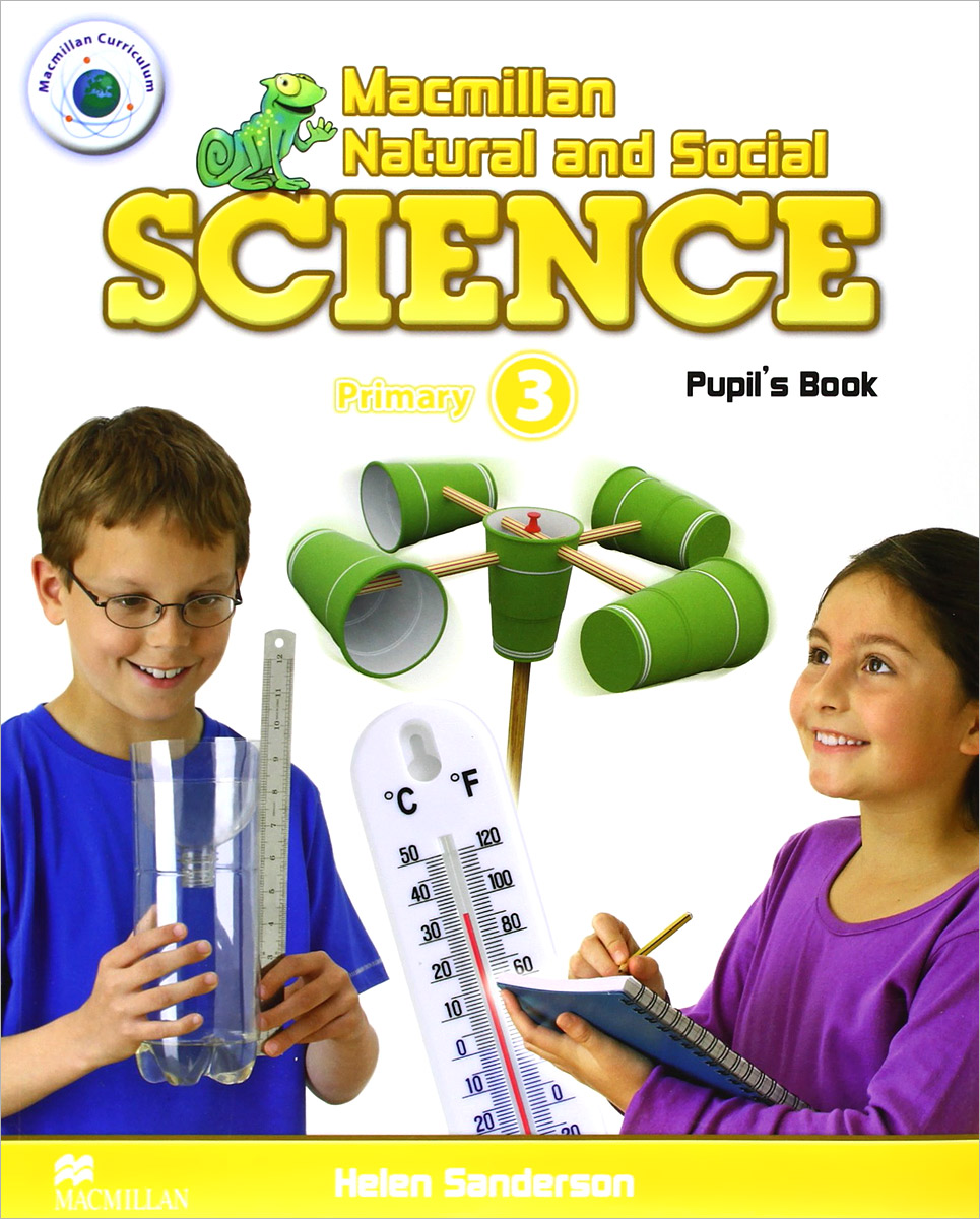 Macmillan Natural and Social Science: Primary 3: Pupil's Book english in social science vol 1