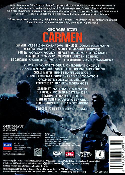 Bizet:  Carmen Opernhaus Zurich