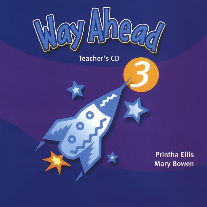 Way Ahead 3: Teacher's CD (аудиокурс на CD) way ahead level 4 teacher s book аудиокурс на cd