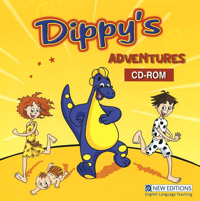 Dippy's Adventures (CD-ROM) team up starter 1 test resource audio cd test maker cd rom