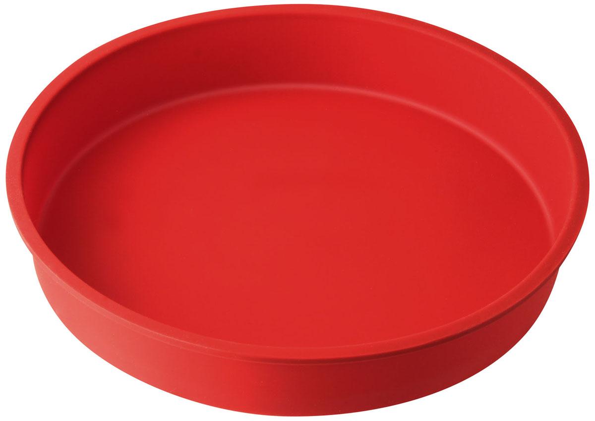 Форма для выпечки Dr.Oetker Flexxibel, круглая, цвет: красный, диаметр 27 см1252Круглая форма Dr.Oetker Flexxibel будет отличным выбором для всех любителей выпечки. Благодаря тому, что форма изготовлена из силикона, готовую выпечку вынимать легко и просто. Форма прекрасно подходит для выпечки различных десертов. С такой формой вы всегда сможете порадовать своих близких оригинальной выпечкой. Материал изделия устойчив к фруктовым кислотам, может быть использован в духовках, микроволновых печах, холодильниках и морозильных камерах (выдерживает температуру от -25°C до 250°C). Антипригарные свойства материала позволяют готовить без использования масла.Можно мыть и сушить в посудомоечной машине. При работе с формой используйте кухонный инструмент из силикона - кисти, лопатки, скребки. Не ставьте форму на электрическую конфорку. Не разрезайте выпечку прямо в форме.