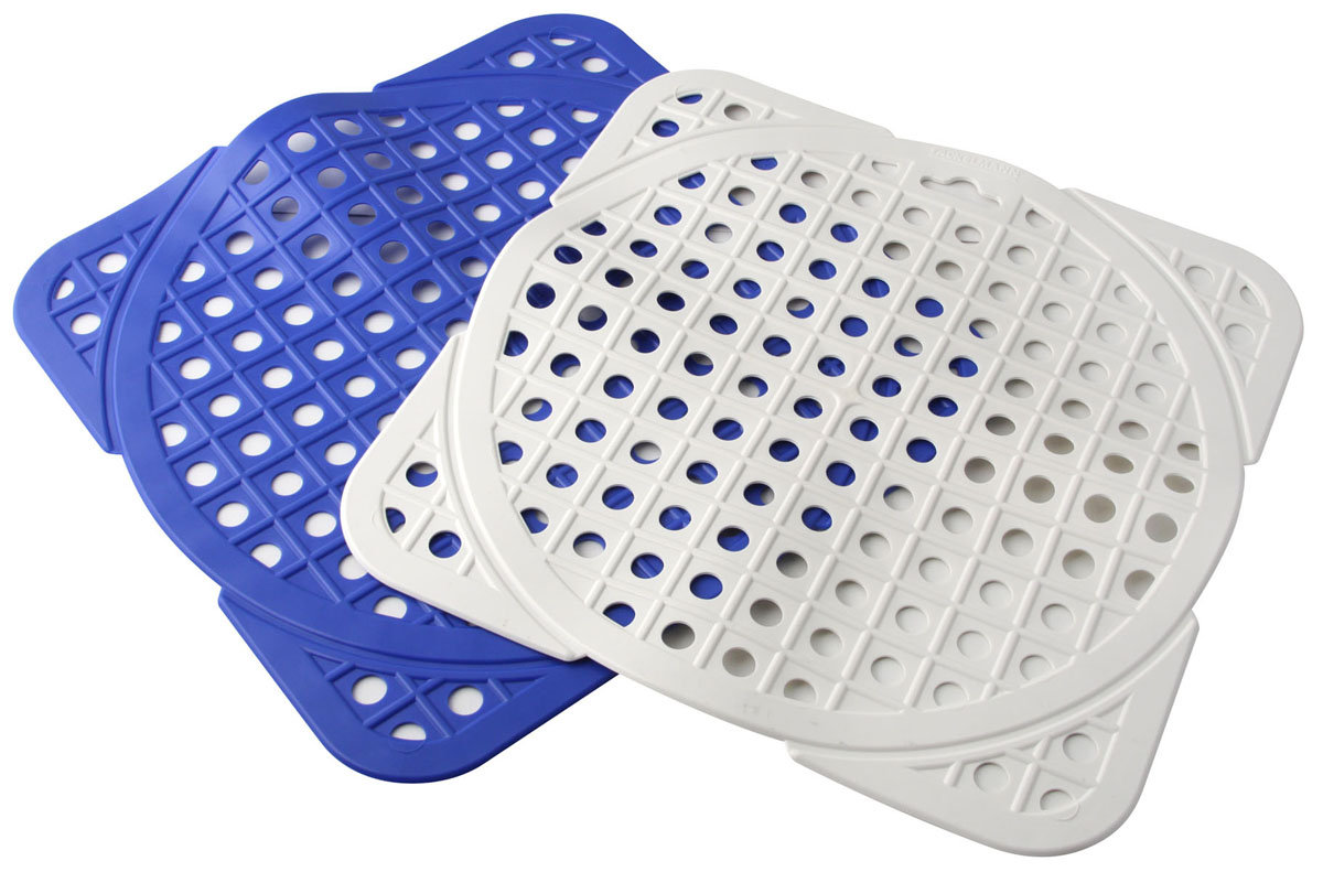 Решетка для раковины, 29,5х29,5см41622Предназначена для защиты раковины от повреждений