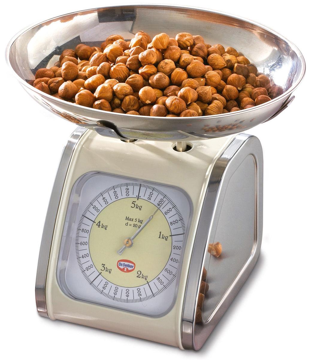 Весы кухонные Dr.Oetker  Ностальгия , до 5 кг - Кухонные весы