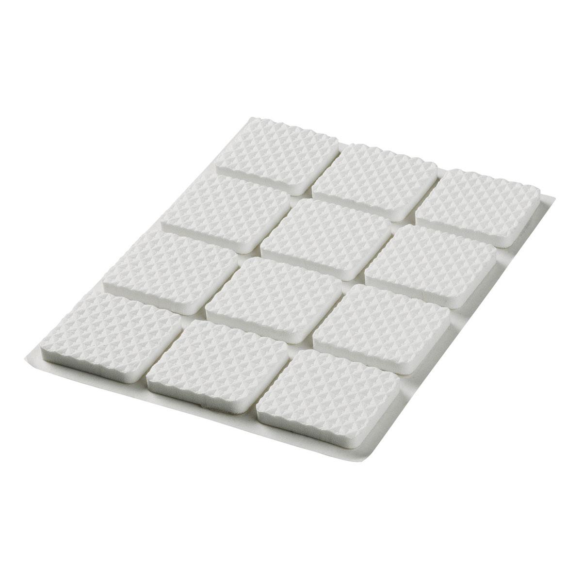Наклейки на мебельные ножки 12шт, 2,5х2,5cм62738Предназначены для предохранения полового покрытия от царапин