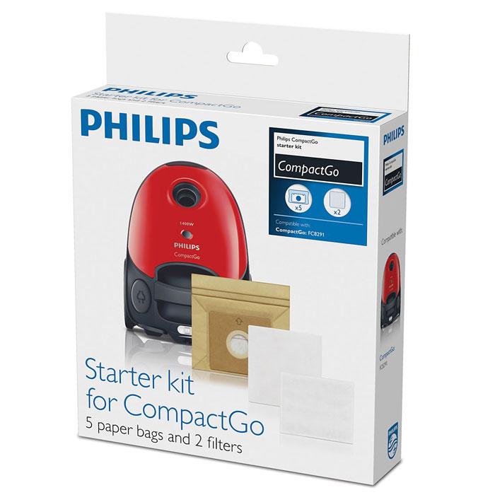 Philips FC8018/01 пылесборник для FC8291/02 (5 шт.) халат женский violett цвет розовый 7117110105 размер m 46