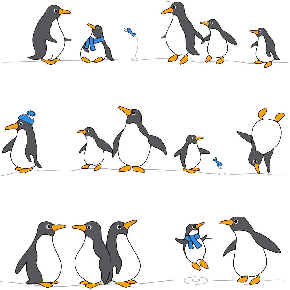 """Штора для ванной Tatkraft """"Penguins"""" изготовлена из PEVA - водонепроницаемого, мягкого на ощупь и прочного материала. Не содержит ПВХ. Изделие оформлено изображением забавных пингвинов. Специальная водоотталкивающая пропитка позволяет каплям не задерживаться на поверхности, а быстро стекать вниз. Антигрибковое покрытие предотвращает появление плесени и продлевает срок службы.  Штора быстро сохнет, легко моется и обладает повышенной износостойкостью. В комплекте имеется 12 овальных пластиковых колец. Два магнита-утяжелителя по углам обеспечивают лучшую фиксацию. Штора для ванной Tatkraft порадует вас своим ярким дизайном и добавит уюта в ванную комнату."""