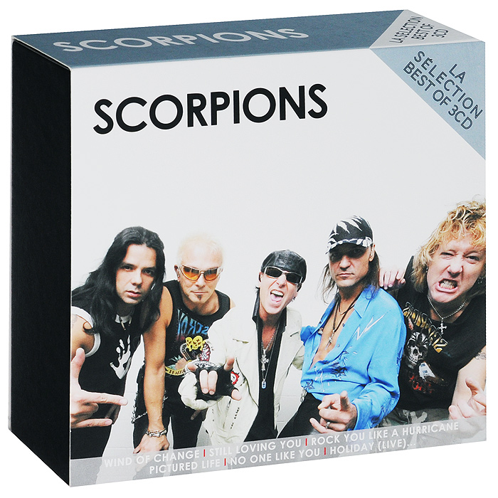 Scorpions Scorpions. La Selection Best Of (3 CD) scorpions – born to touch your feelings best of rock ballads cd