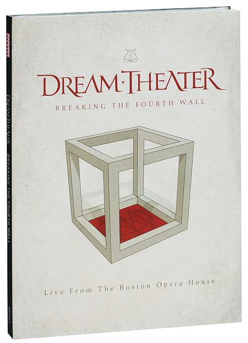 Dream Theater. Breaking the Fourth Wall (2 DVD) кепка vans off the wall