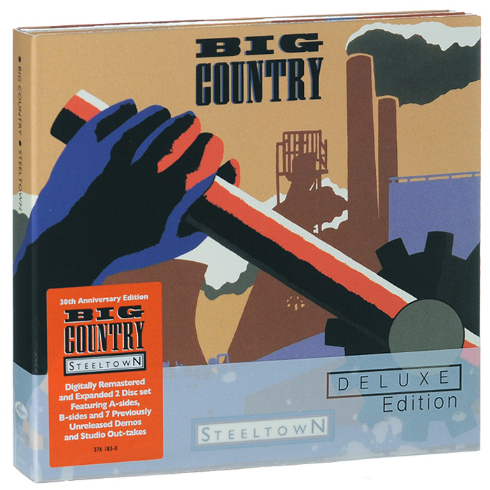Big Country Big Country. Steeltown. Deluxe Edition (2 CD) scooter scooter the ultimate aural orgasm limited deluxe edition 2 cd