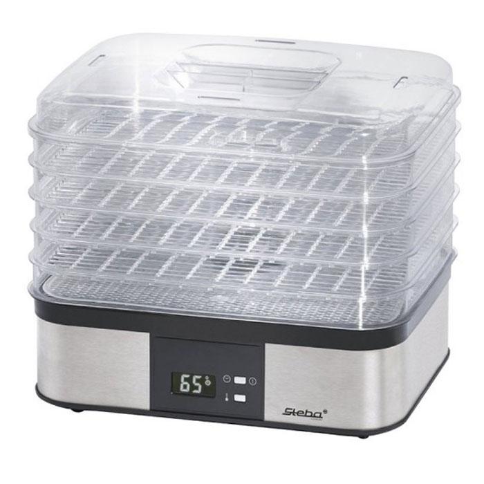 Steba ED 5 сушилка для овощей и фруктовED 5Электросушилка Steba ED 5 отлично подходит для сушки трав, цветов, фруктов, ягод и овощей. Рабочая температура от 40°С до 70°С. Имеет регулируемый термостат и дисплей.Встроенный таймер на 36 часовВ комплекте подложка для травРабочая поверхность 50 х 320 х 250 мм