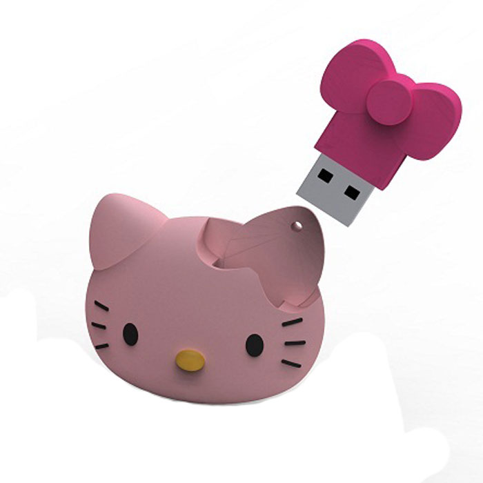 цена на Iconik Hello Kitty Face 16GB USB-накопитель