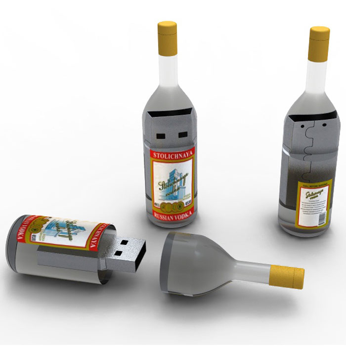 Iconik Водка 16GB USB-накопитель usb перезаряжаемый высокой яркости ударопрочный фонарик дальнего света конвой sos факел мощный самозащита 18650 батареи