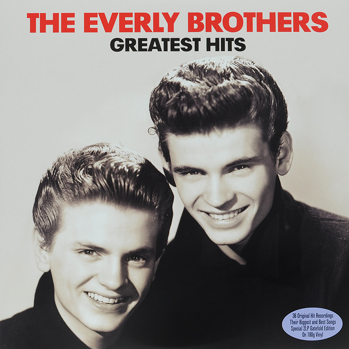 The Everly Brothers The Everly Brothers. Greatest Hits (2 LP) the pazant brothers pazant brothers skunk juice dirty funk from the big apple lp