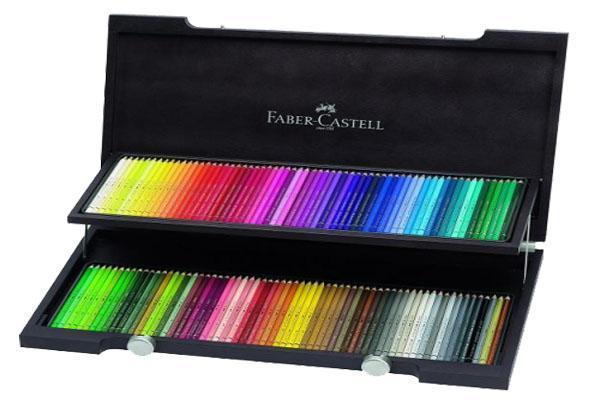 Художественный набор с акварельными карандашами ALBRECHT DURER®, набор цветов,в деревянном пенале, 120 шт.117513Вид карандаша: Акварельный.Материал: дерево.