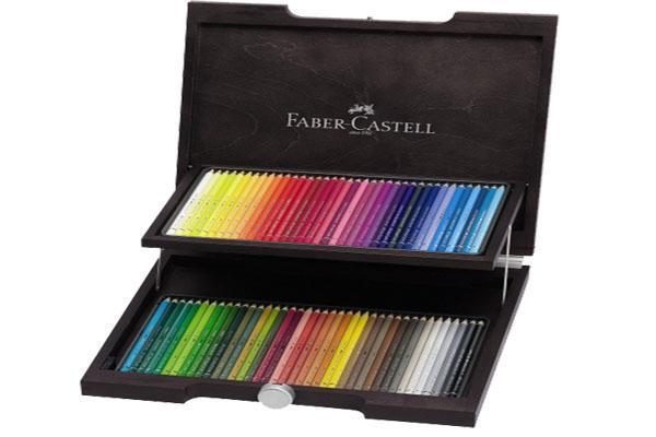 Художественный набор с акварельными карандашами ALBRECHT DURER®, набор цветов, в деревянном пенале, 72 шт.117572Вид карандаша: Акварельный.Материал: дерево.