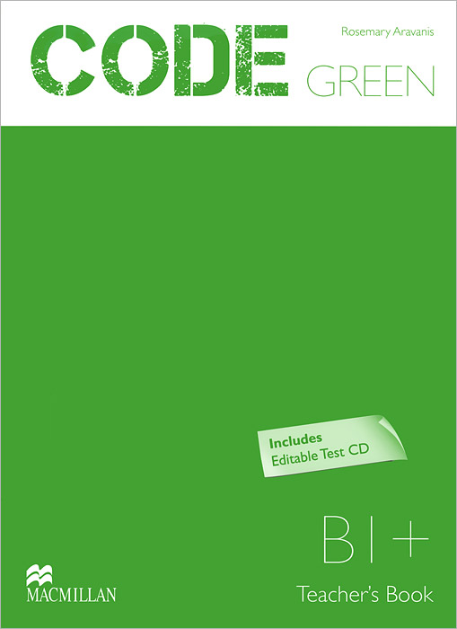 Code Green: Level B1+: Teacher's book (+ CD-ROM) global elementary teacher's book resource cd pack