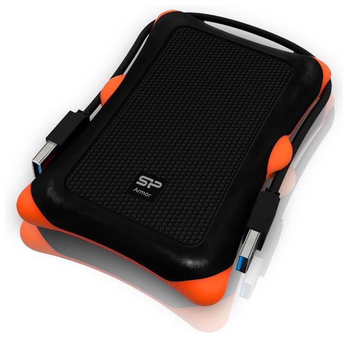 Silicon Power Armor A30 2TB, Black внешний жесткий диск - Носители информации