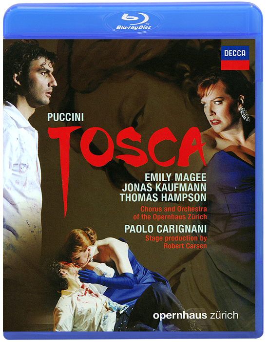 Puccini: Tosca (Blu-ray) working together in theatre