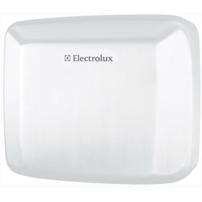 Electrolux 2500W/EHDA, White сушилка для рукEHDA/W – 2500 белаяВ Сушилках для рук серии EHDA/W - 2500 встроен чувствительный инфракрасный датчик, который срабатывает и включает прибор в тот момент, когда Вы подносите к нему руки. Данный тип включения позволяет быстро и гигиенично высушить руки, что особенно важно в общественных местах, больницах и офисах. Для повышения эффективности был разработан мотор, который создает скорость потока до 30 м/с, благодаря этому время сушки сведено к минимуму (10-15 сек). Благодаря устройству сушилки и инфракрасному датчику включения и отключения, прибор исключает лишние затраты на электричество, что важно при постоянном использовании прибора.