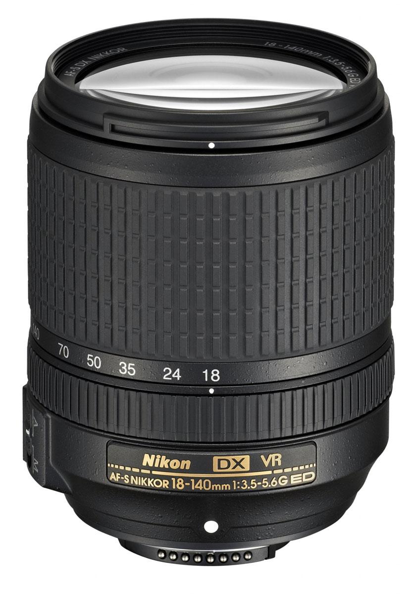 Nikon D5300 Kit 18-140 VR, Blackцифровая зеркальная фотокамера Nikon