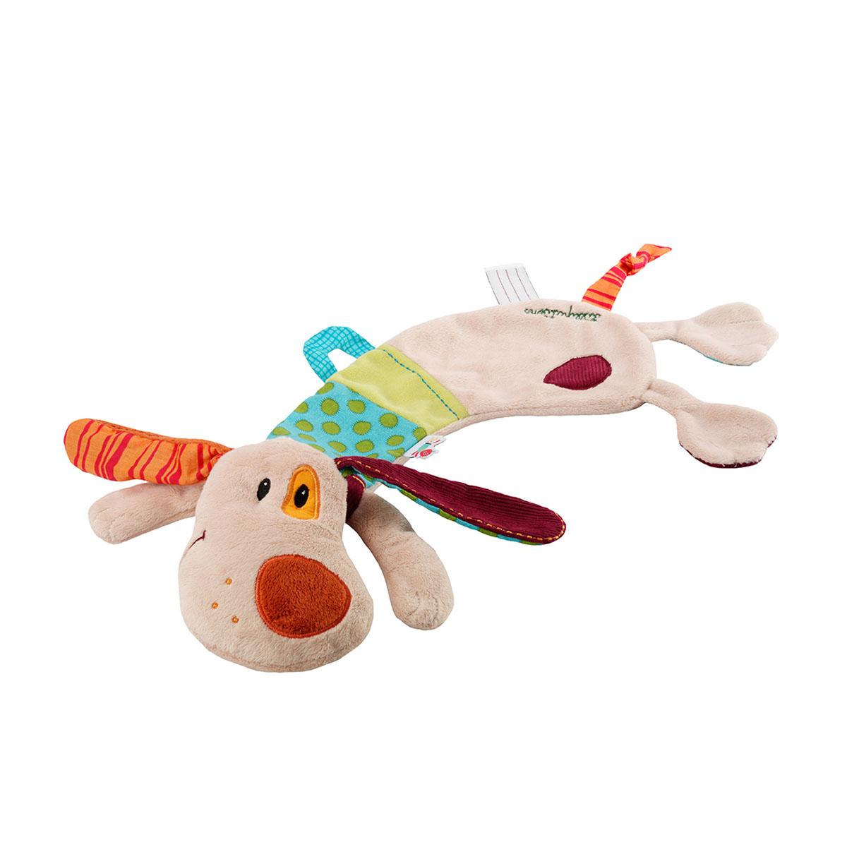 Lilliputiens Игрушка-обнимашка Собачка Джеф lilliputiens курочка офелия музыкальная игрушка