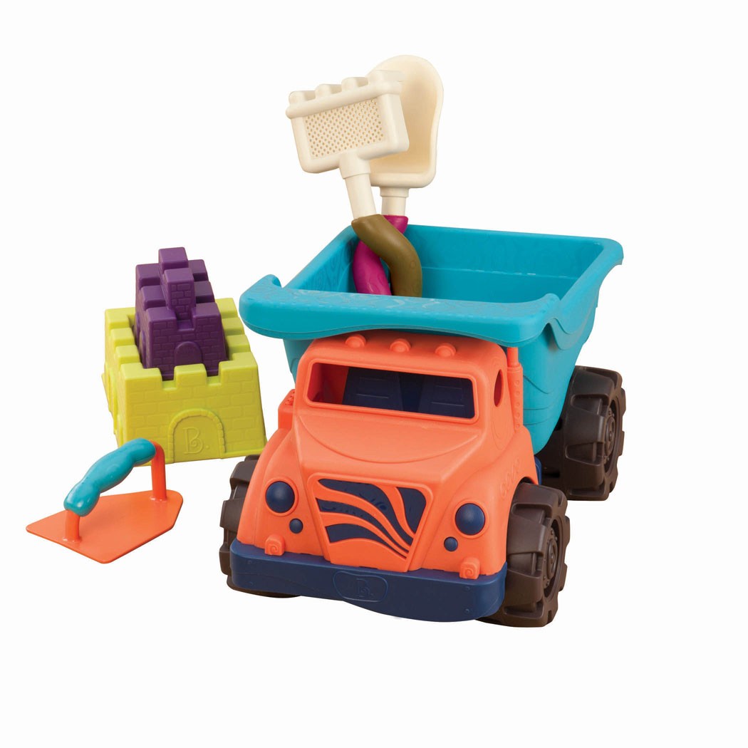 B.Summer Самосвал и игровой набор для песка Coastal Cruiser - Игры на открытом воздухе