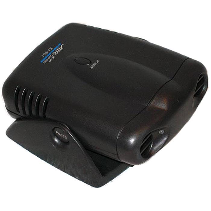 AirComfort XJ-801, Black воздухоочиститель-ионизатор00000000067Автомобильный воздухоочиститель AirComfort XJ-801 с генератором анионов, использующий принцип ионного ветра, мгновенно вырабатывает полезные для здоровья человека отрицательные ионы кислорода и постоянно наполняет салон Вашего автомобиля чистым и свежим воздухом.Используется современная технология ионного ветраПростой в использовании не требует замены фильтровИмитирует автомобильную охрануДатчик движения автоматически включает и выключает очиститель воздухаПростая установка в автомобиль при помощи регулируемого основания Нейтрализует запахи и освежает воздухПитание: 4 батарейки типа АА